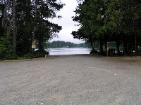 Philips Lake boat launch