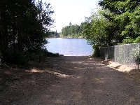 Tee Lake Boat launch